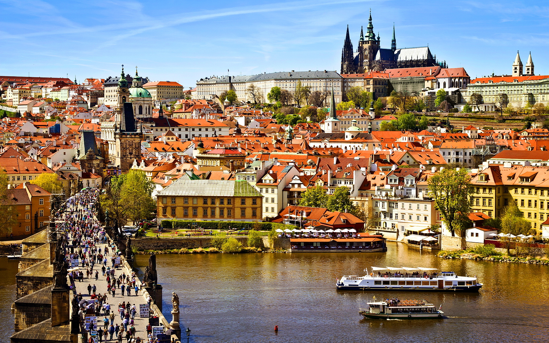 Povratne avio karte za Prag