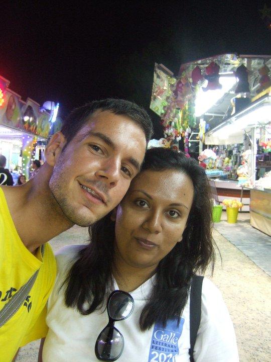 Na putovanju u Španiji sa drugaricom iz Šri Lanke