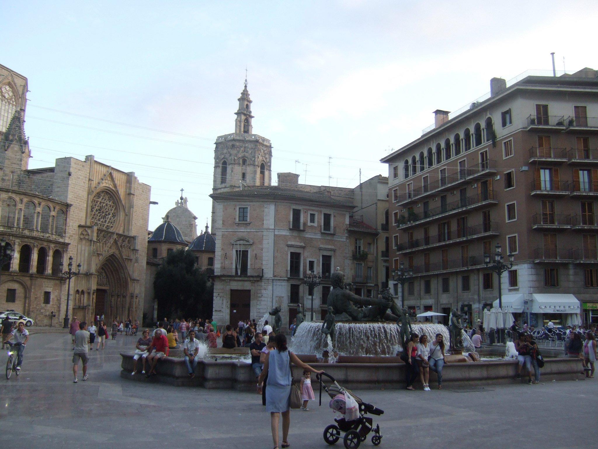 Centar starog grada u Valensiji