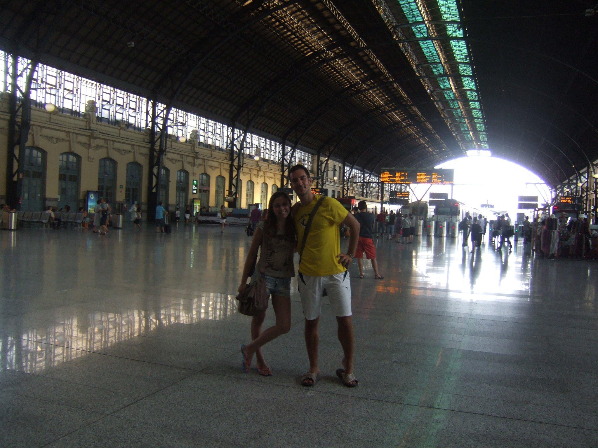 Dolazak u Valensiju na aerodrom