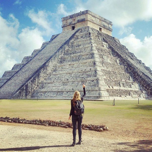 Jedno od 7 svjetskih čuda je čuvena piramida u Meksiku Čičen Ica