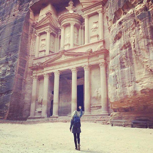 Petra u Jordanu privlači mnoge turiste