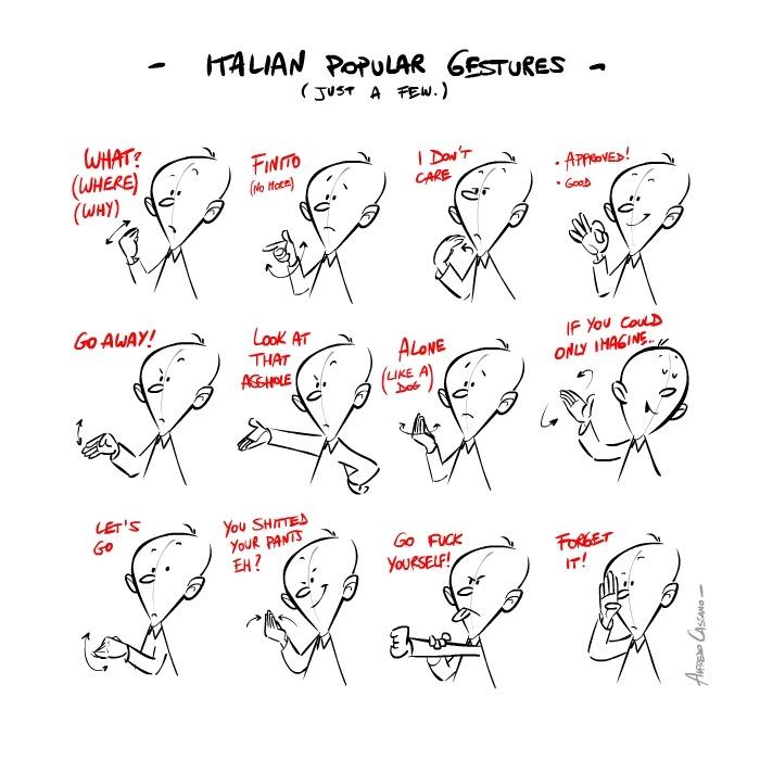 kako sve komuniciraju Talijani