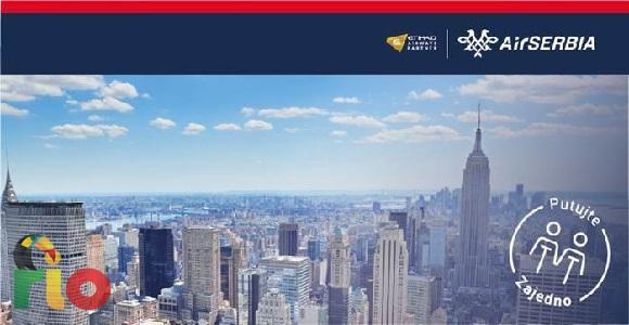 Air Serbia ima novu akciju u kojoj nam donose povratne karte za mnoge gradove