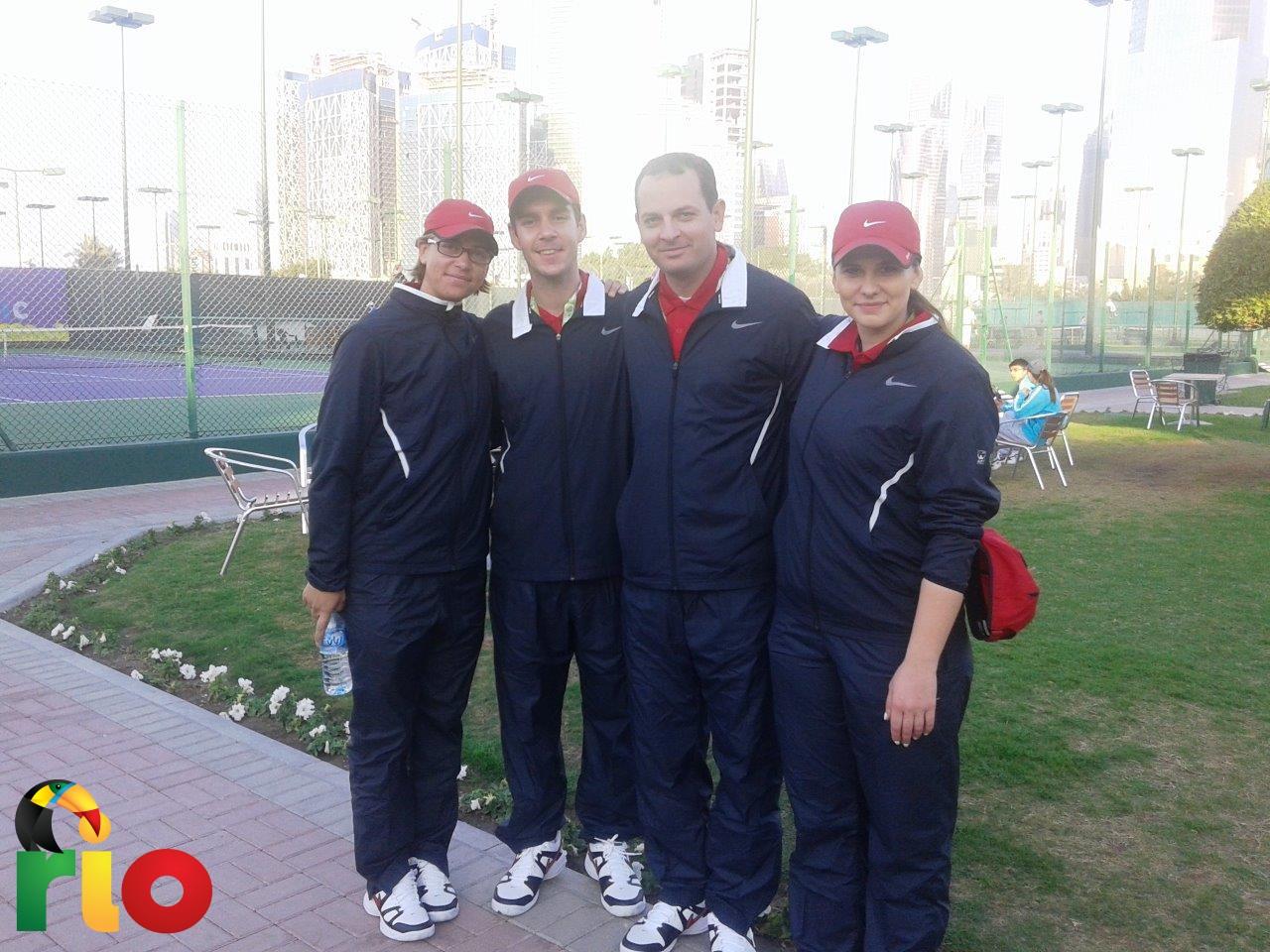 Sudijska ekipa u Dohi
