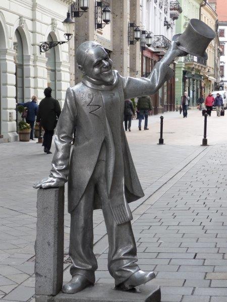 Figura u Bratislavi