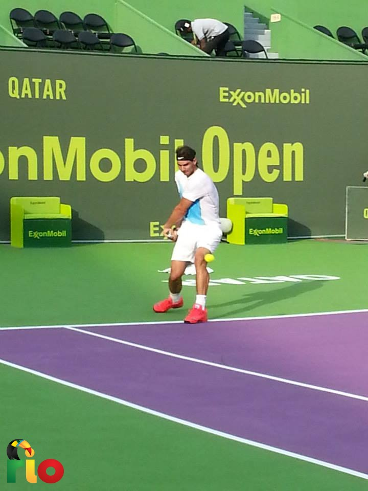 Nadal igra tenis