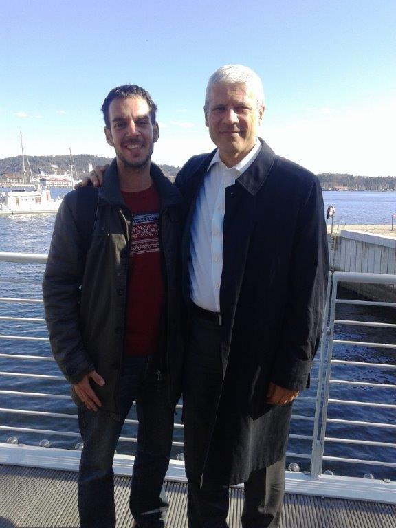 Boris Tadić i ja zajednička slika