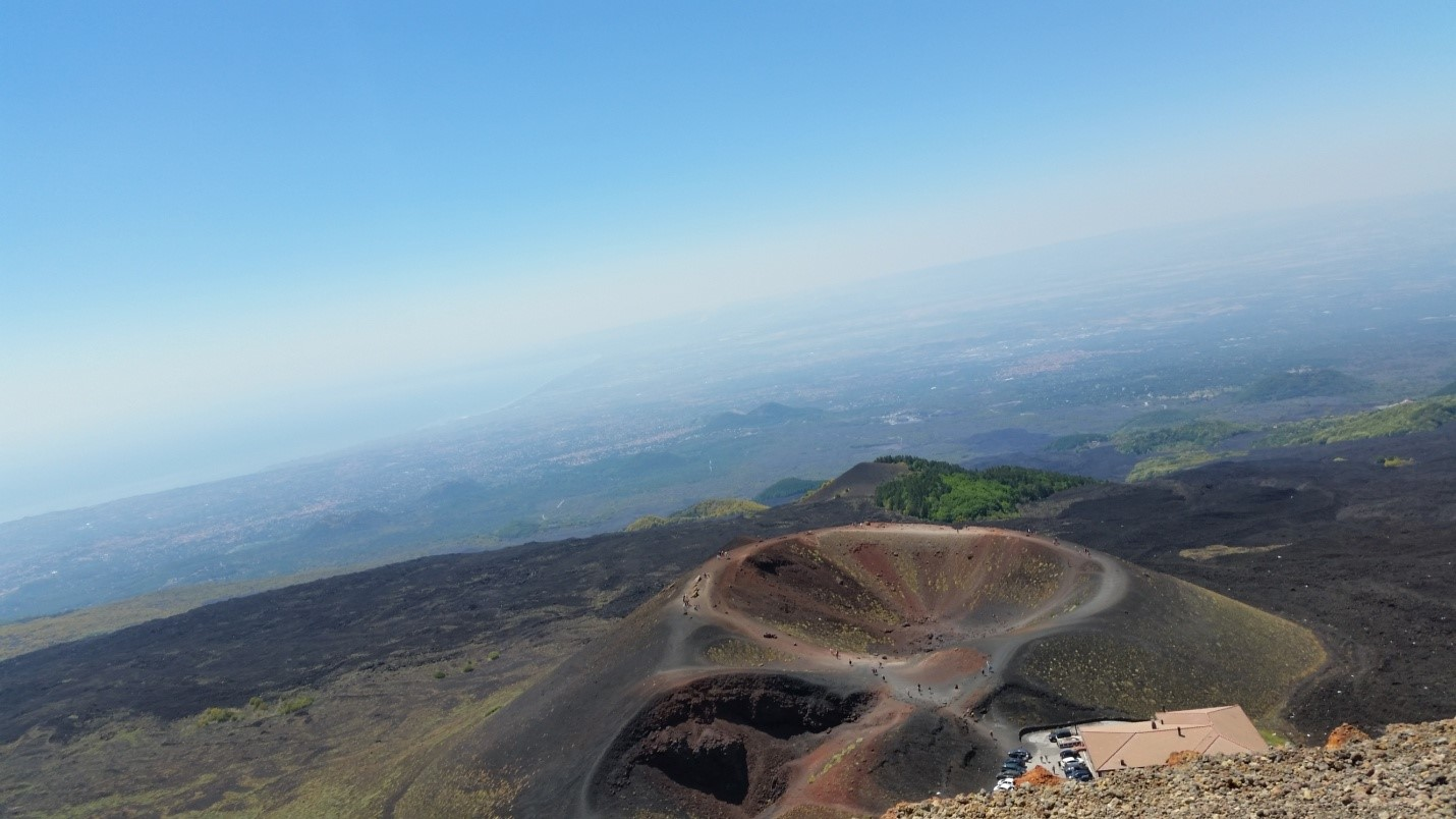 Vulkan Etna najveći je aktivni vulkan u Italiji