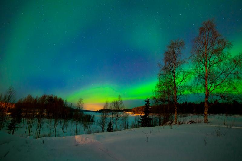 Polarna svjetlost u Finskoj