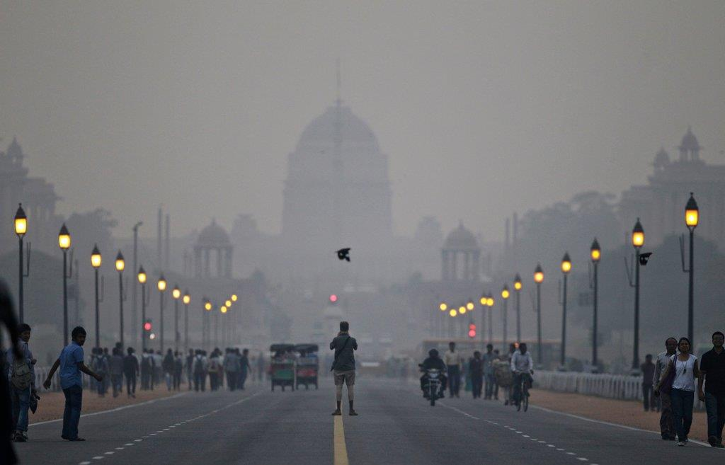 Nju Delhi zagađenost