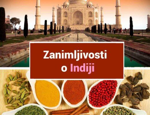 zanimljivosti o Indiji