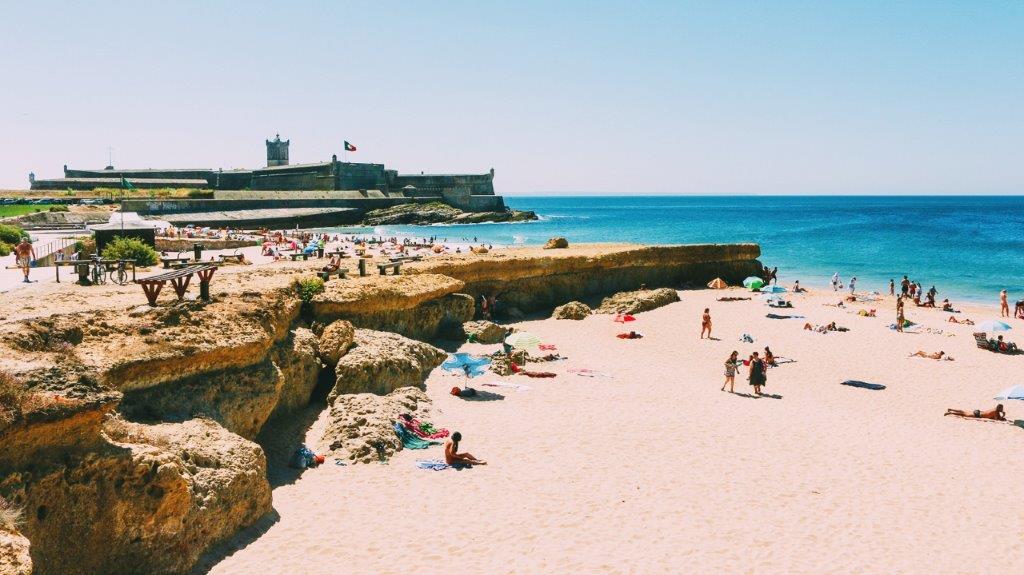 Praia de Carcavelos Lisabon