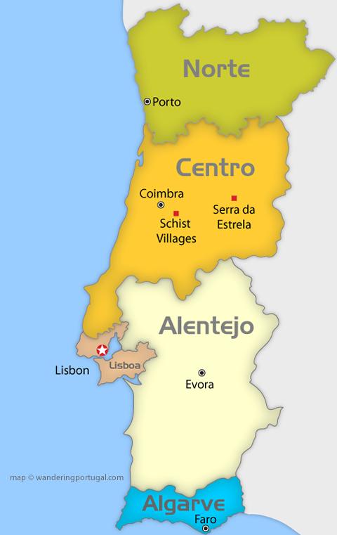 Regije Portugala