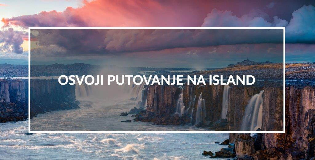osvoji putovanje na Island