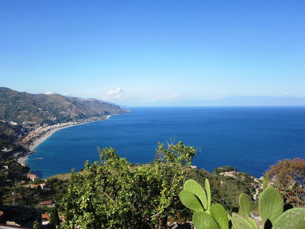 Pogled na Taorminu