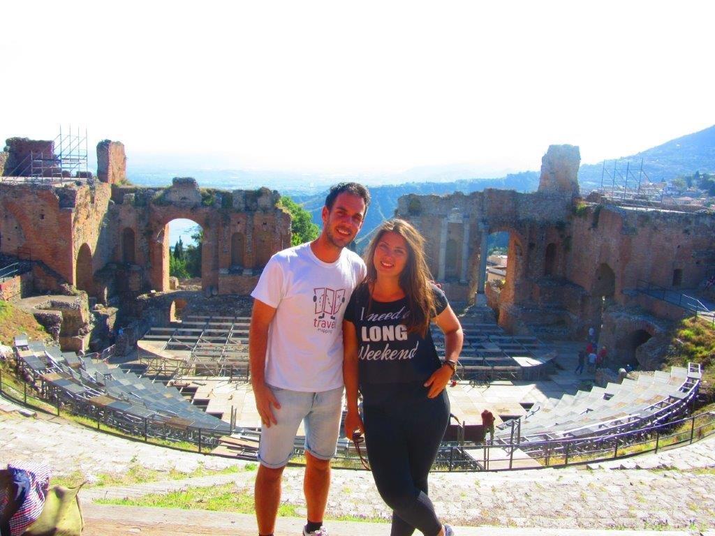 Taormina amfiteatar