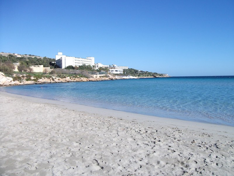 Melieha bay Malta plaža