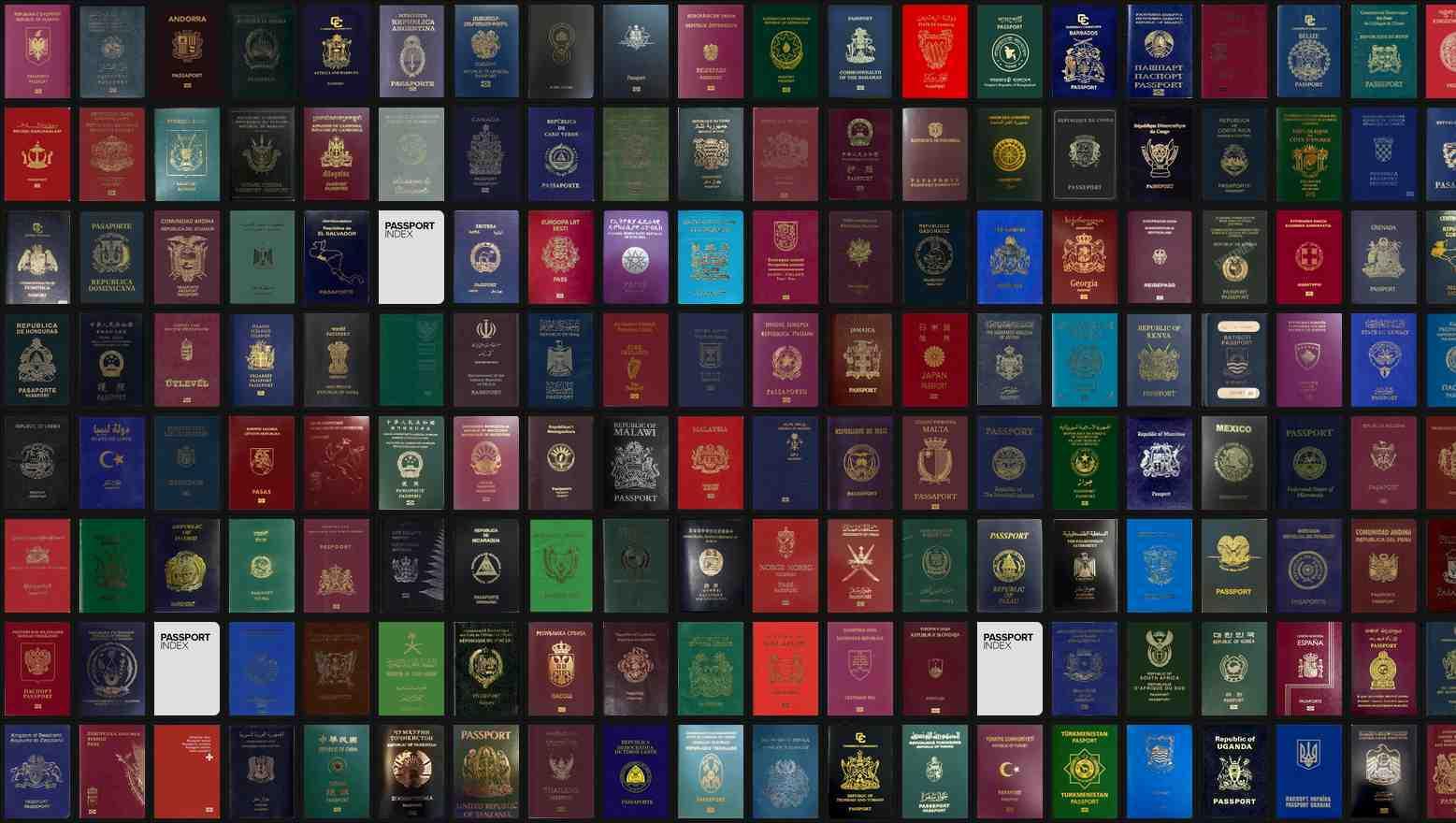 svi pasoši svijeta