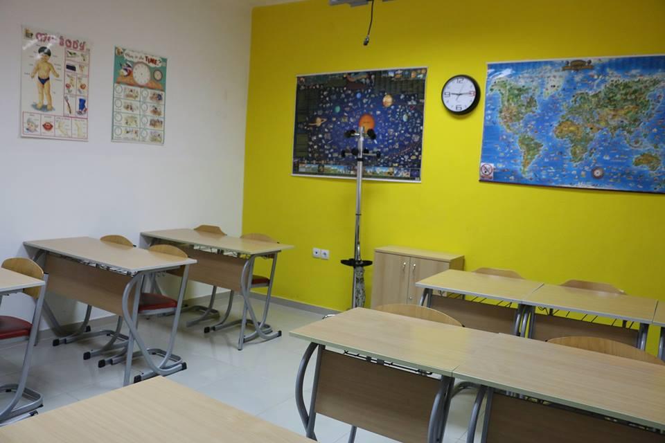 učionica za učenje stranih jezika