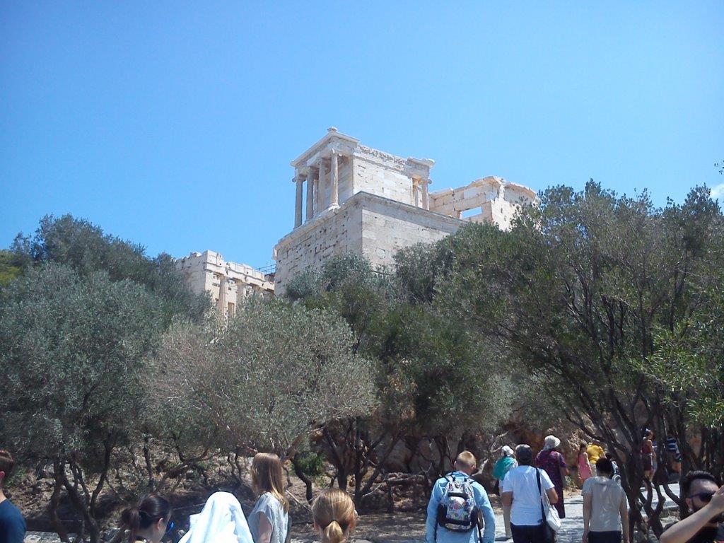 Putovanje u Atinu - Akropolj