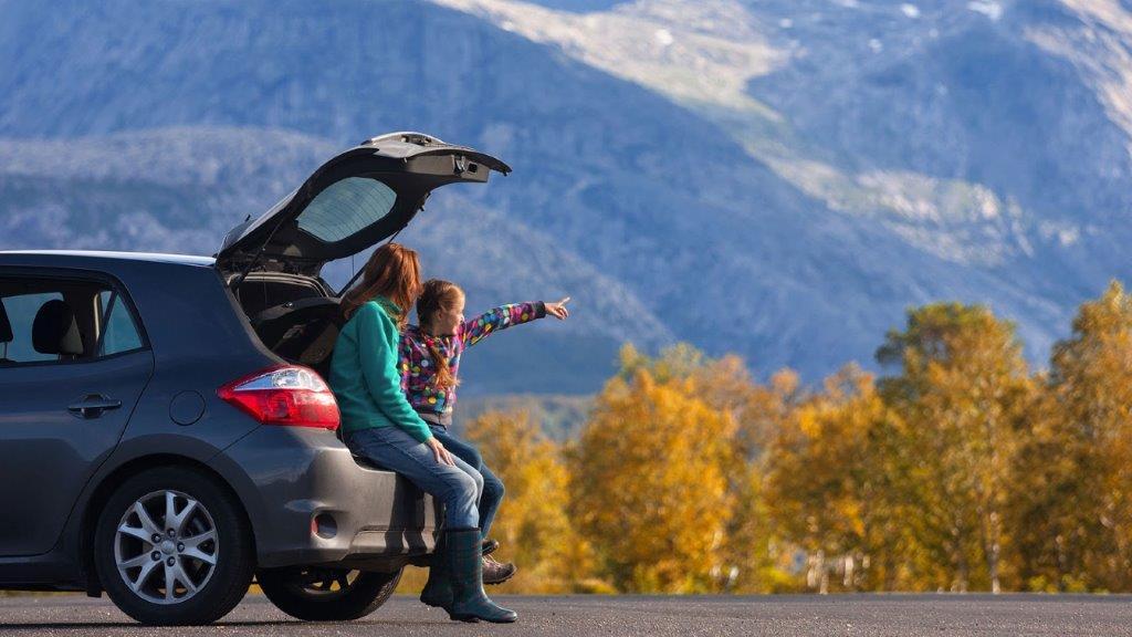 rent a car na putovanju
