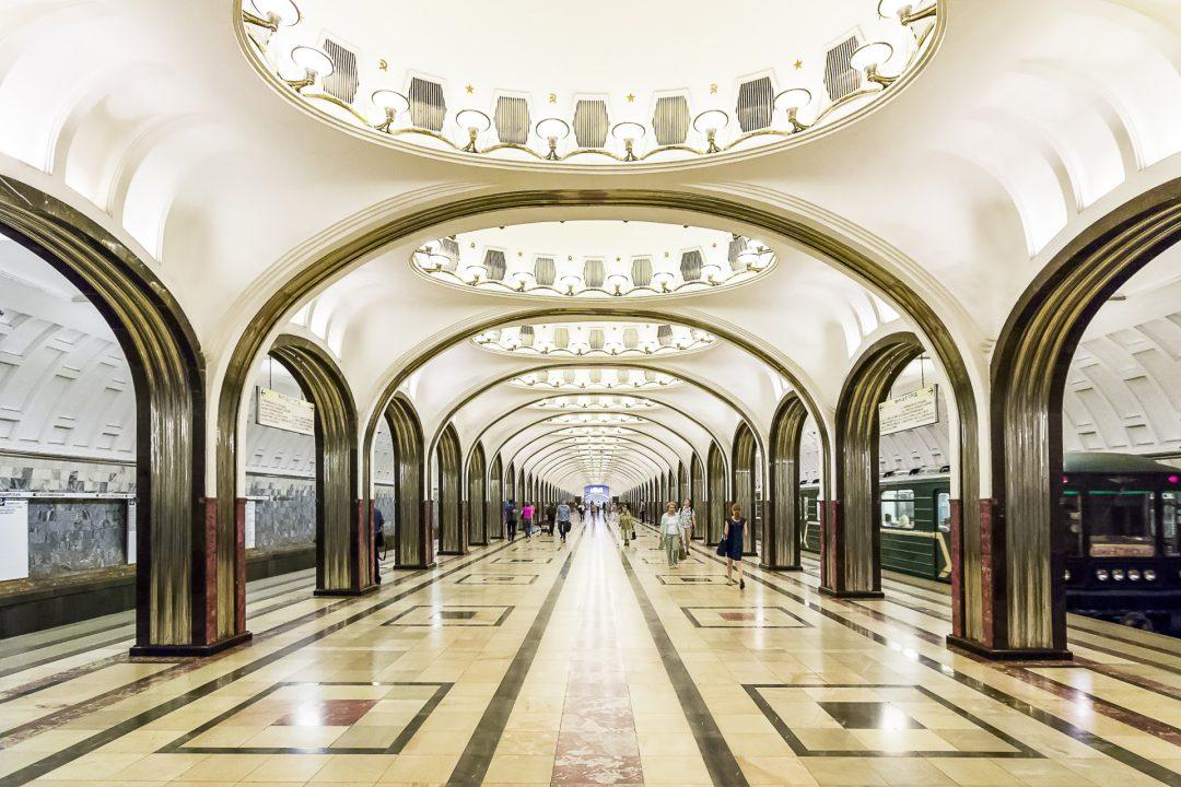 Majakowskaja stanica u metrou