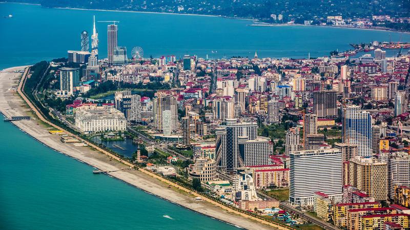 Batumi Gruzija panorama