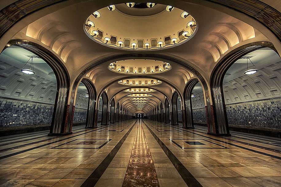 majakovskaja station