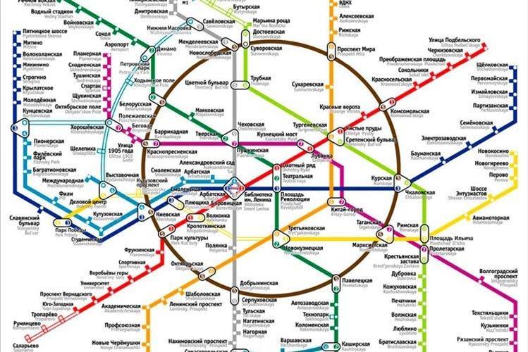 metro u moskvi mapa