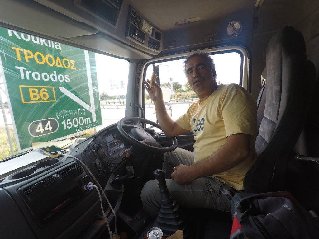 Dimitris vozač kamiona