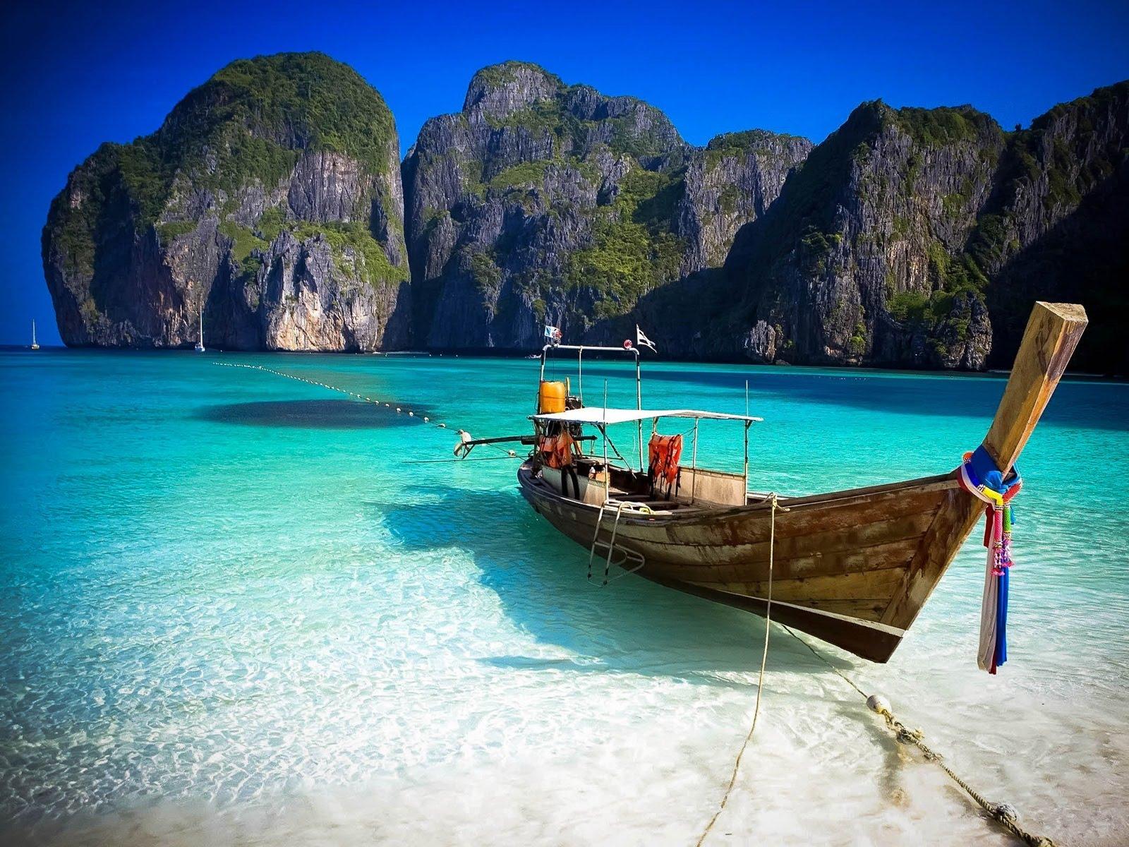 Maya Bay plaža Tajland