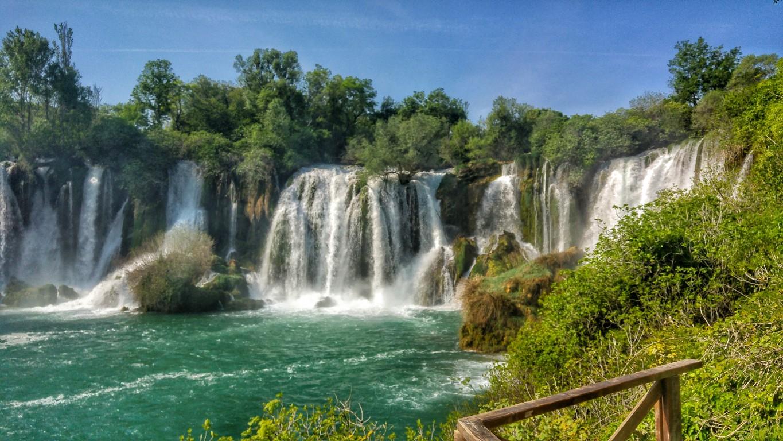 slapovi u Mostaru
