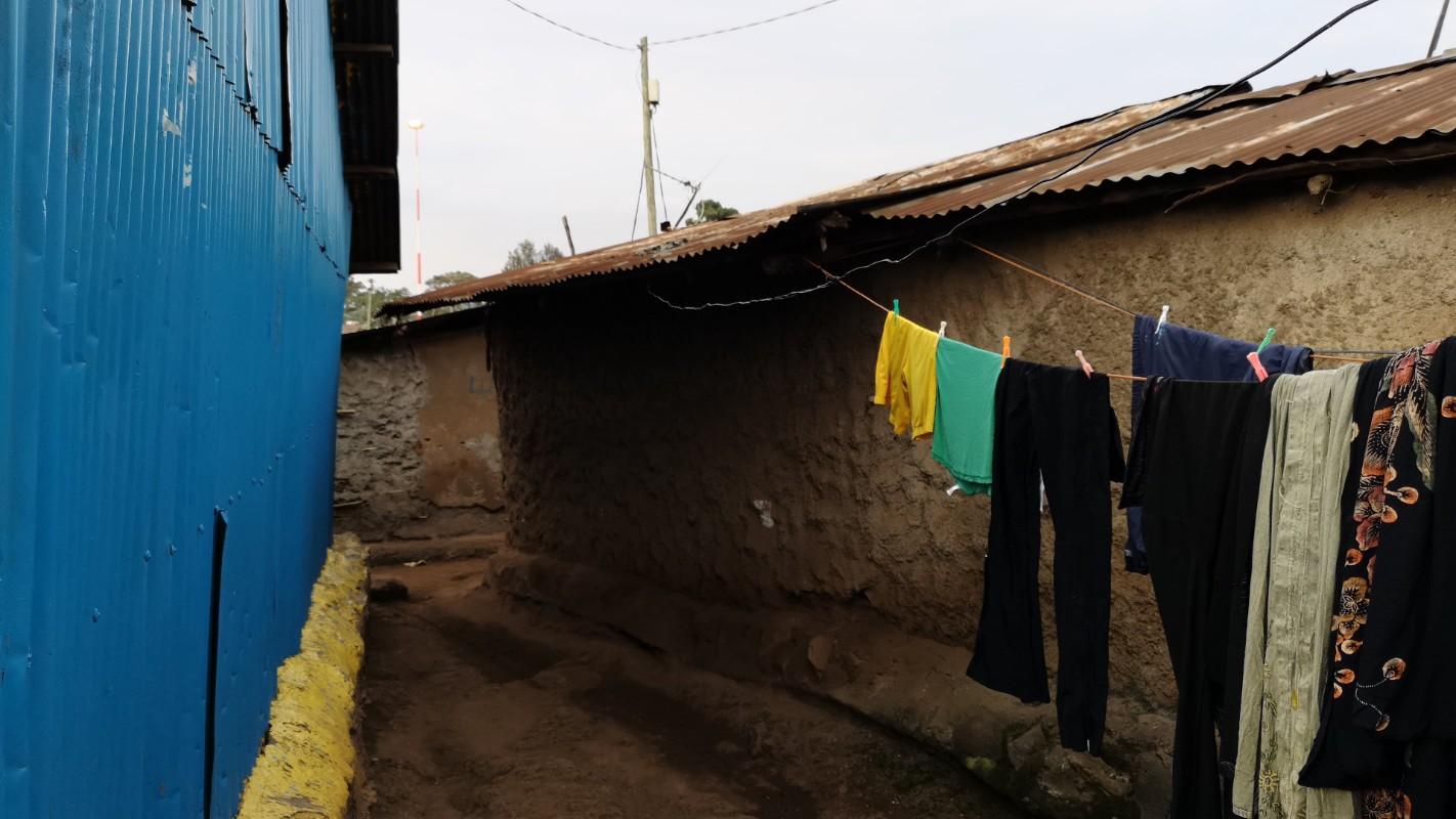 Kibera slum