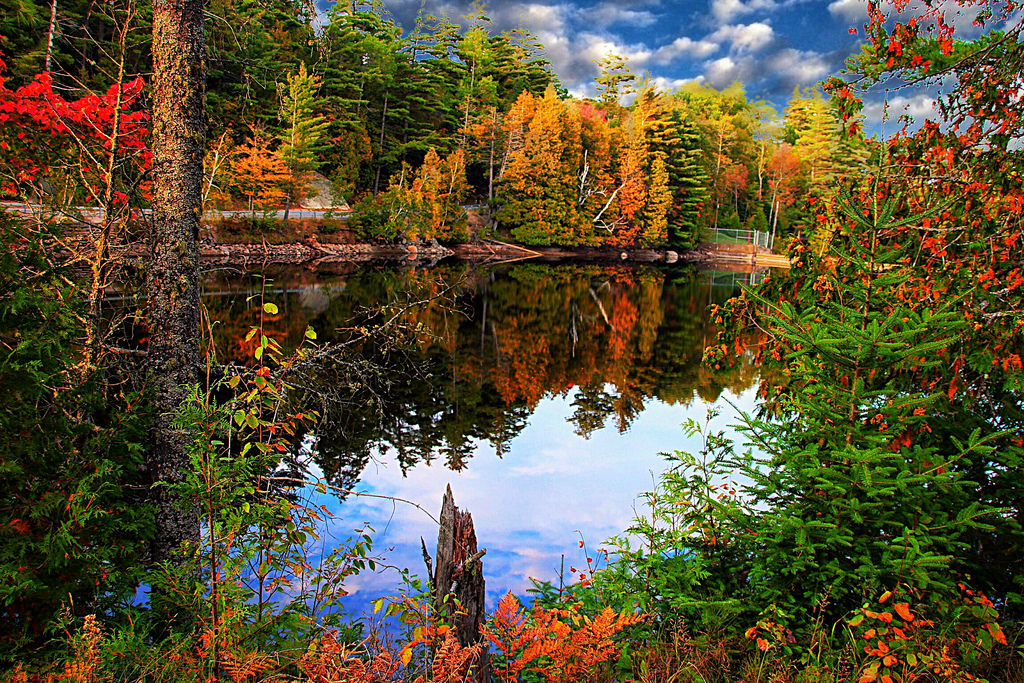 mirror lake lejk placid