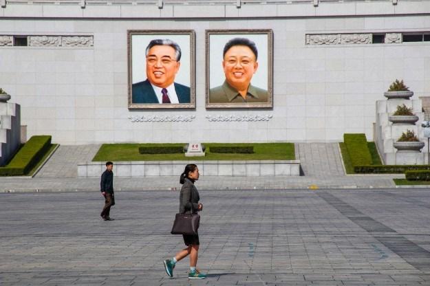 Kim Il Sung, Kim Jong Il - Street life