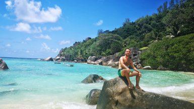 Plaža na Sejšelima