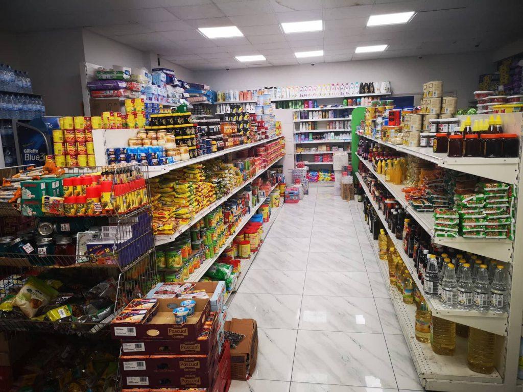 supermarket u Aftici