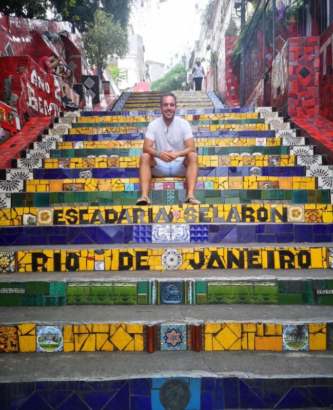 Escadaria Selaron Lapa