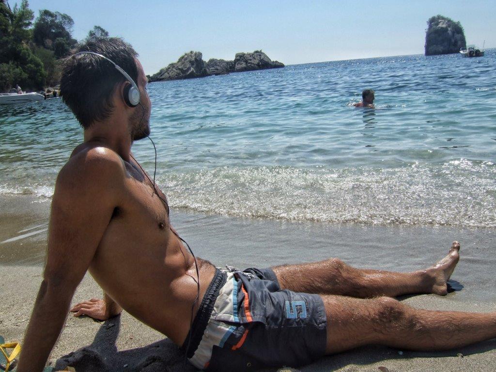 pješčana plaža u Grčkoj
