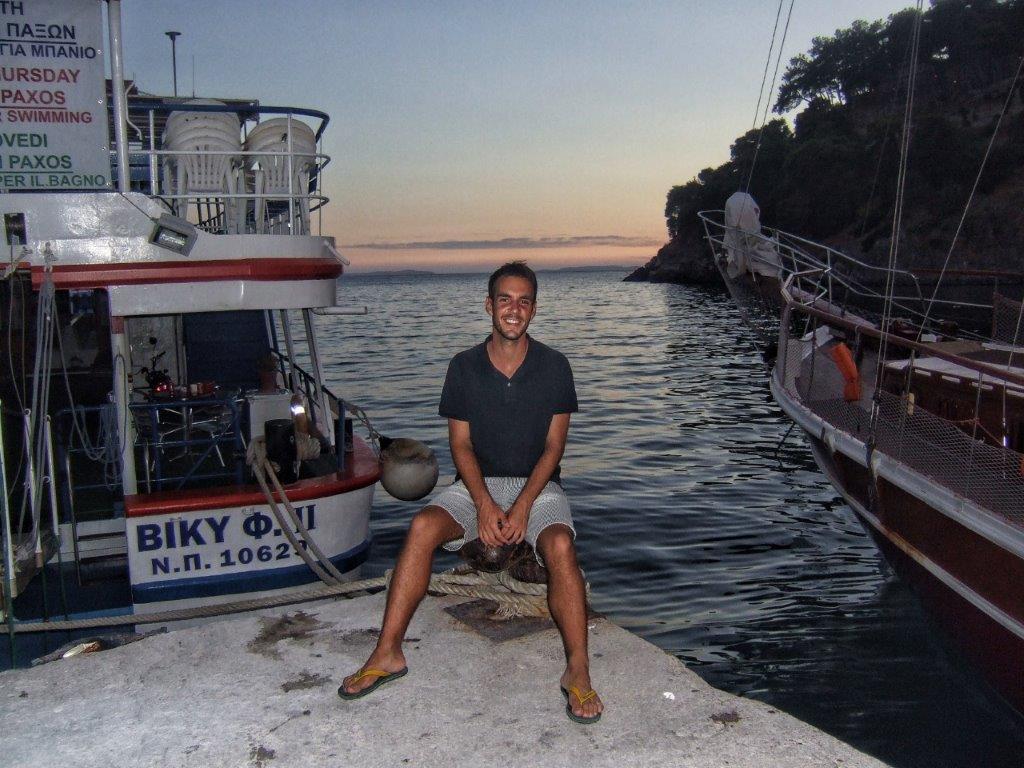 zalazak sunca u Grčkoj