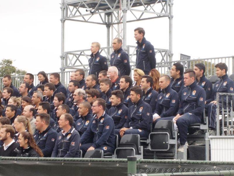 Ekipa sudija na turniru u Holandiji