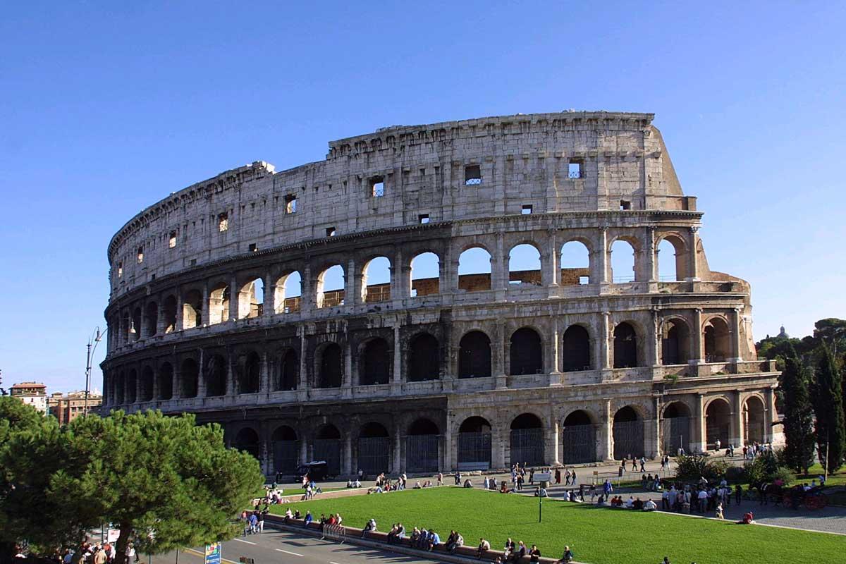 povratne karte za Rim, glavni grad Italije