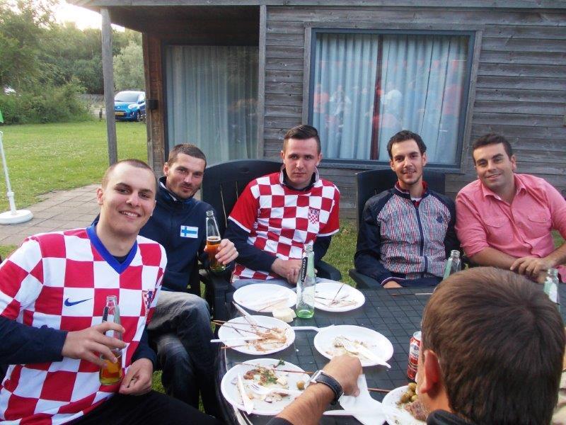 sa prijateljima iz Hrvatske
