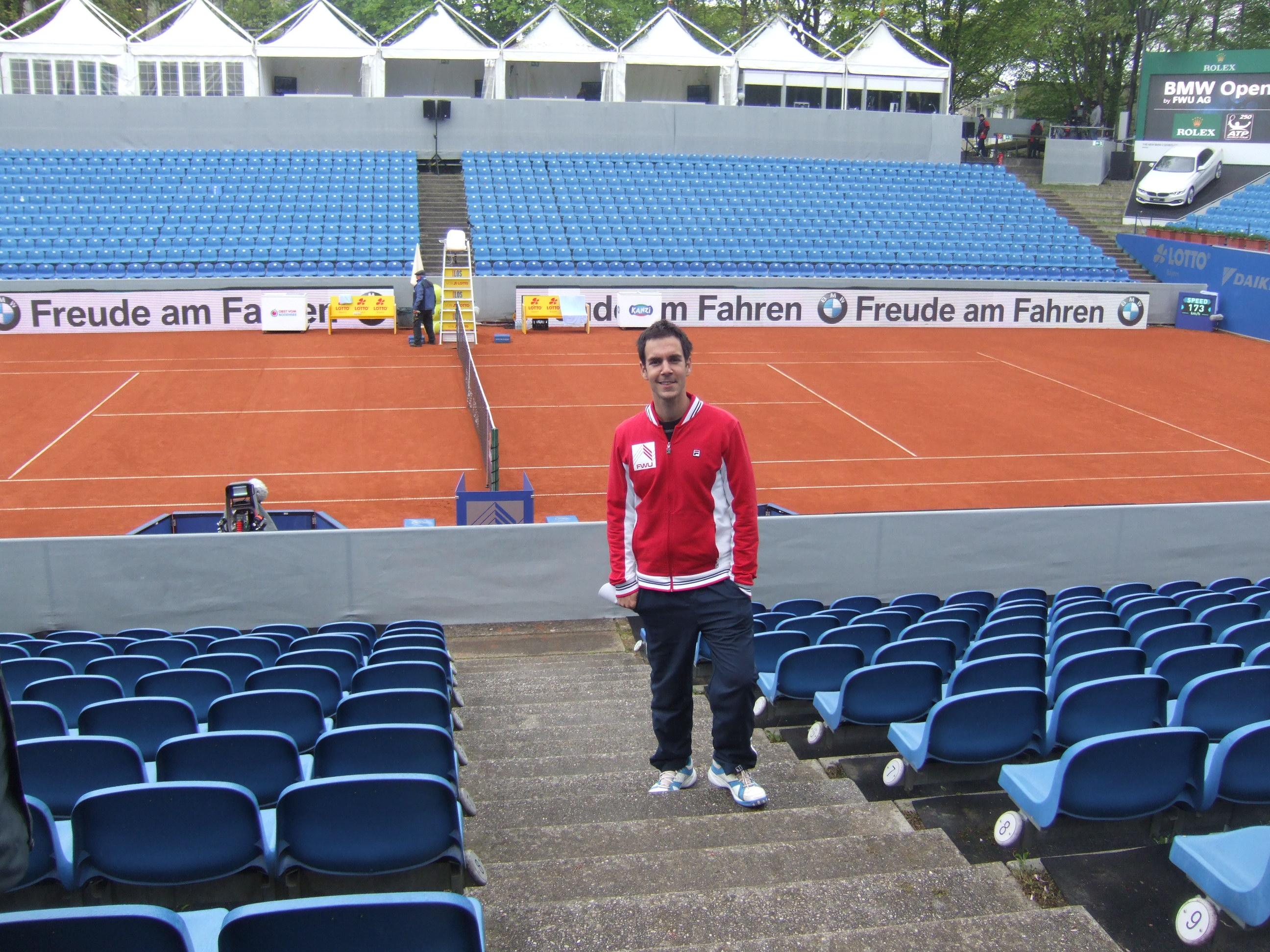 Ja na teniskom turniru u Minhenu