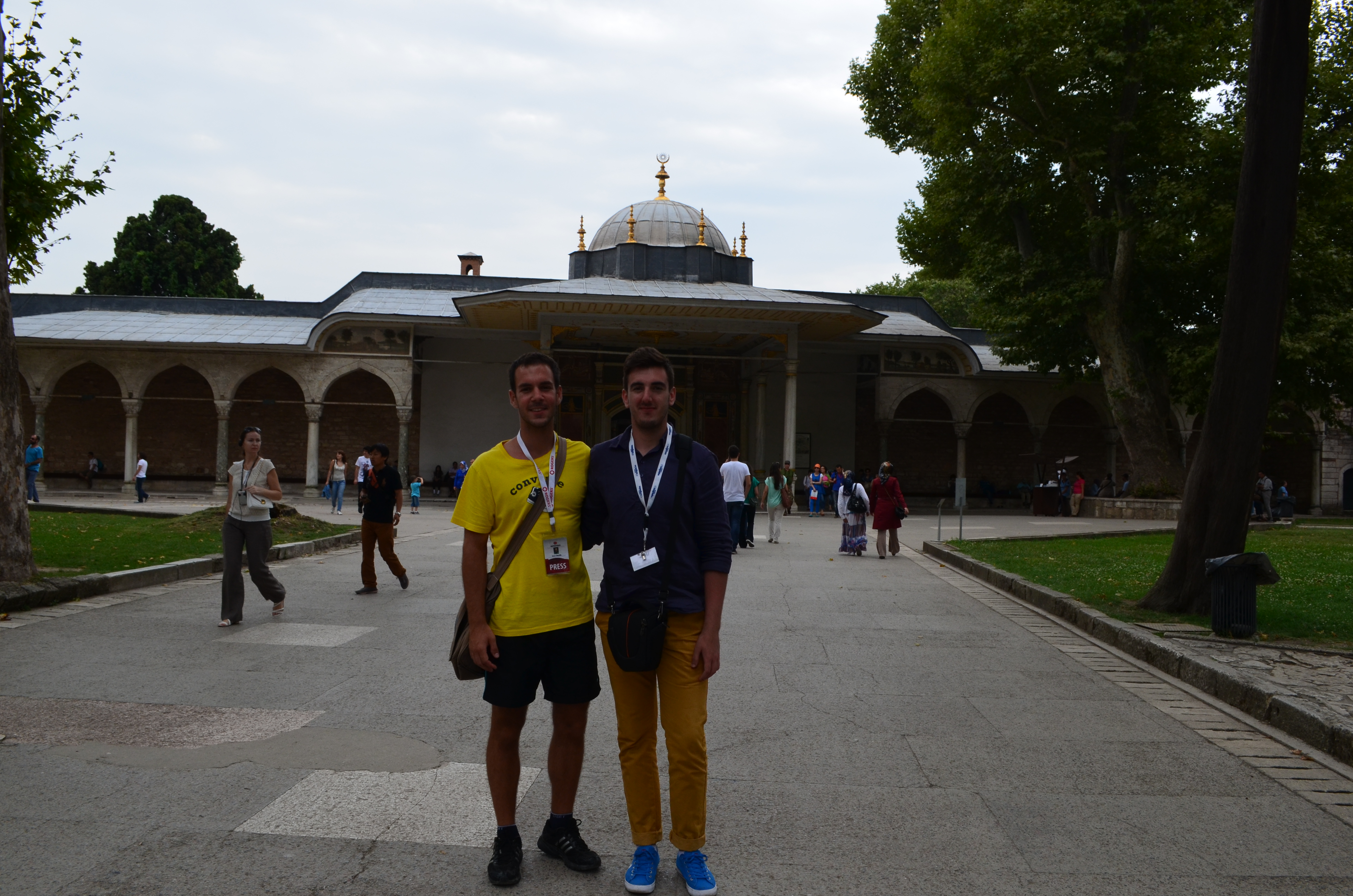 Tokom putovanja u Istanbulu