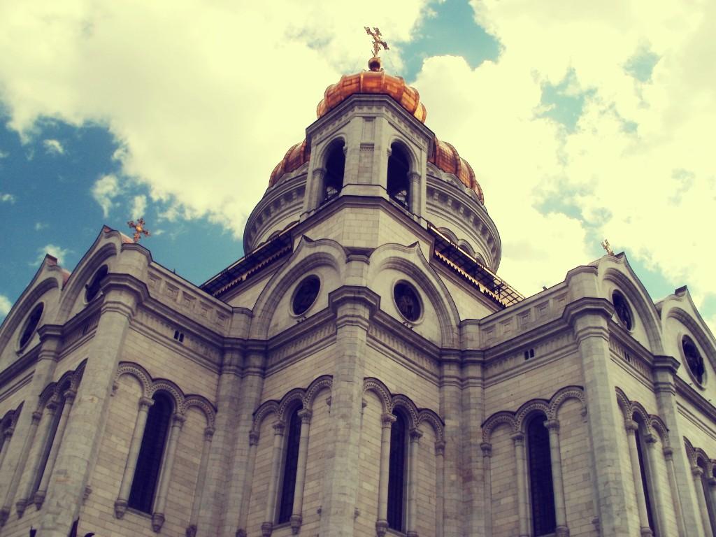 moja priča iz Moskve - Hram Hrista Spasitelja