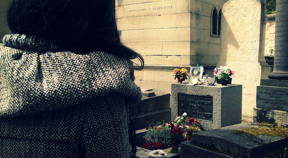 Grob Džima Morisona na Pére Lachaise u Parizu