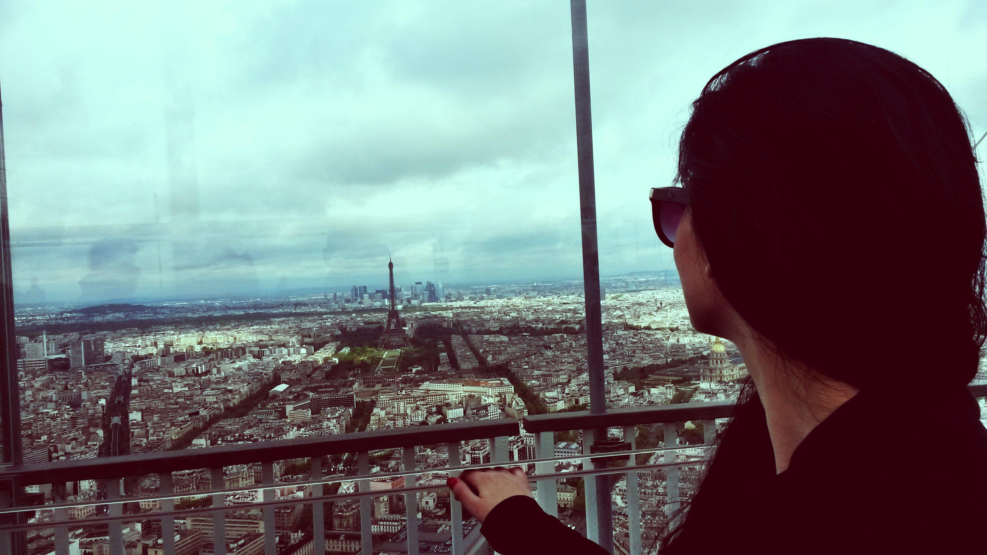 Pogled na Pariz sa tornja Montparnasse