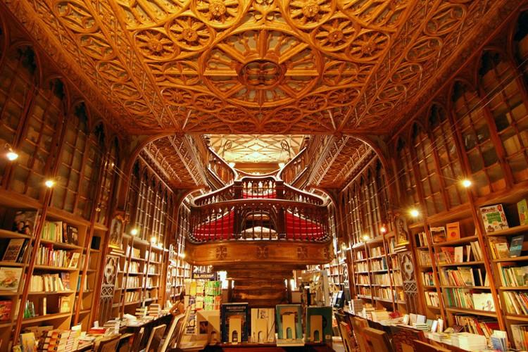Nevjerovatna arhitektura knjižare Lello